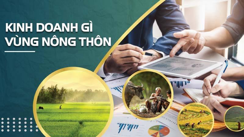 Ý tưởng kinh doanh nông nghiệp làm giàu ở nông thôn đơn giản