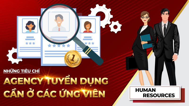 Những tiêu chí Agency tuyển dụng cần ở các ứng viên
